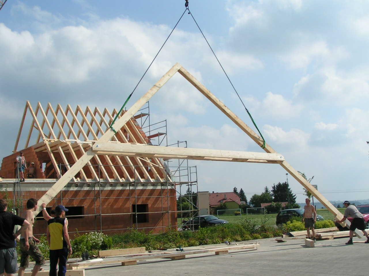 Gerätehaus Bau