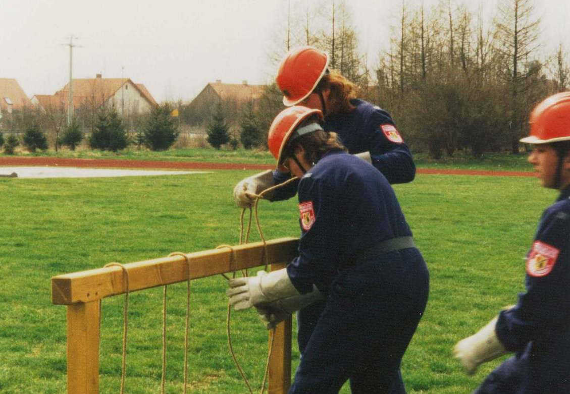 Jugendfeuerwehr in den 90er