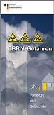 CBRN-Gefahren Flyer des BBK