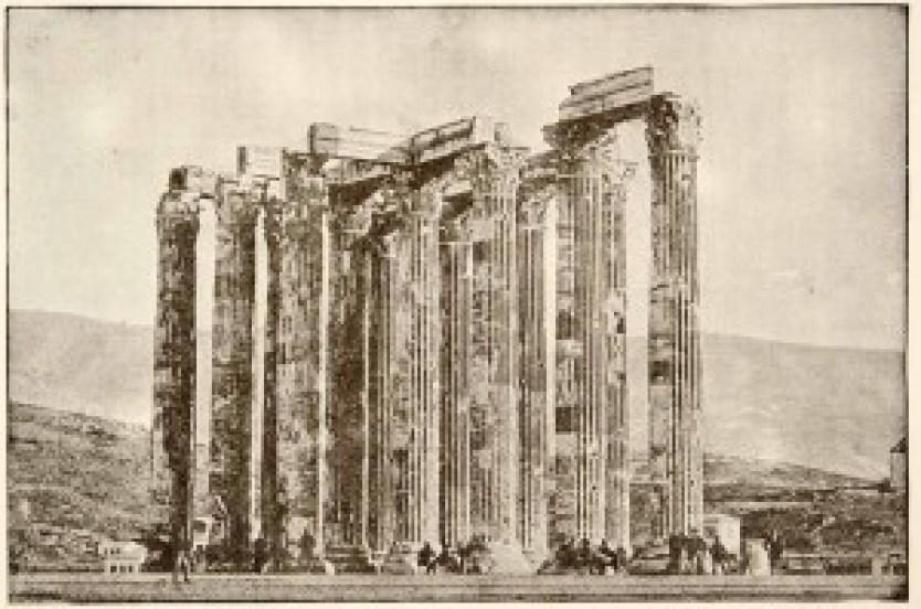 Olympeium v Atenah