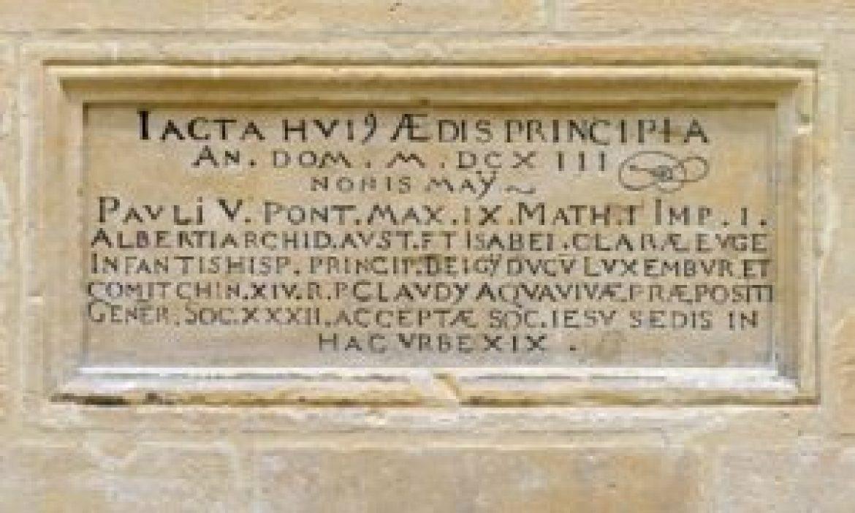 Luxembourg_Cathédrale_Notre-Dame_Latin_inscription_1613