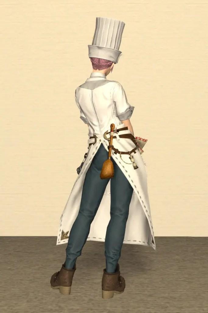 調理師Lv80:ガリーフィーンド装備 背面