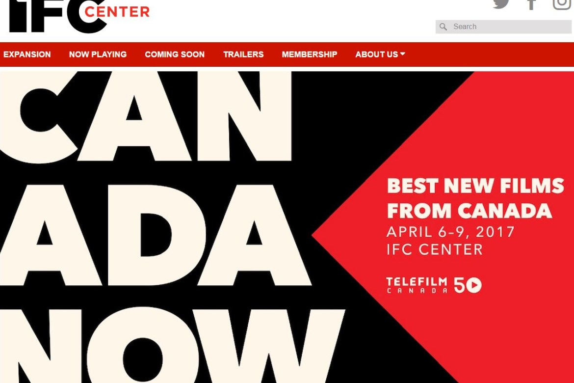 """NYC's 2017 """"Canada Now"""" Film Festival now playing at IFC Center"""