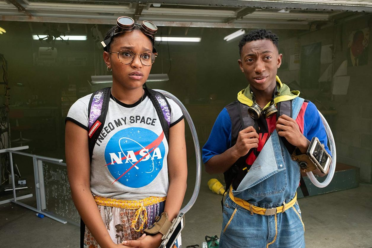 Eden Duncan-Smith and Danté Crichlow in See You Yesterday.