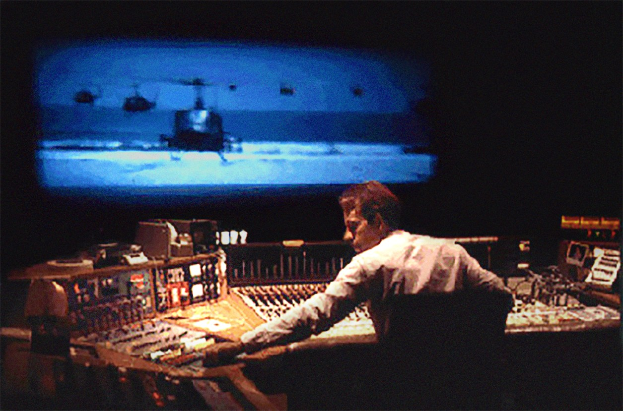 Walter Murch re-recording mixing Apocalypse Now 1979.