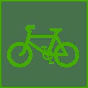 Grøn cykel