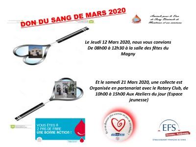 Saône-et-Loire : Collecte à venir à Montceau les mines