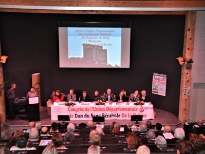 Drôme : 32ème Congrès des associations de Donneurs de Sang Bénévoles