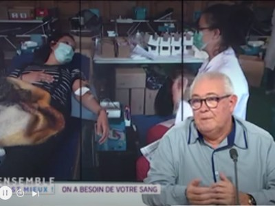 Le don de sang à l'honneur sur France 3 Normandie
