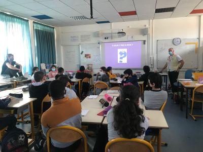 Meurthe et Moselle : l'ADSB Nancy retourne à l'école primaire !