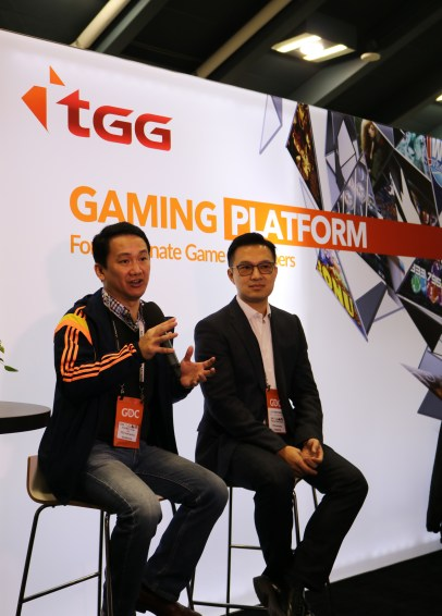 TGG Co-founders sharing gaming insights to media
