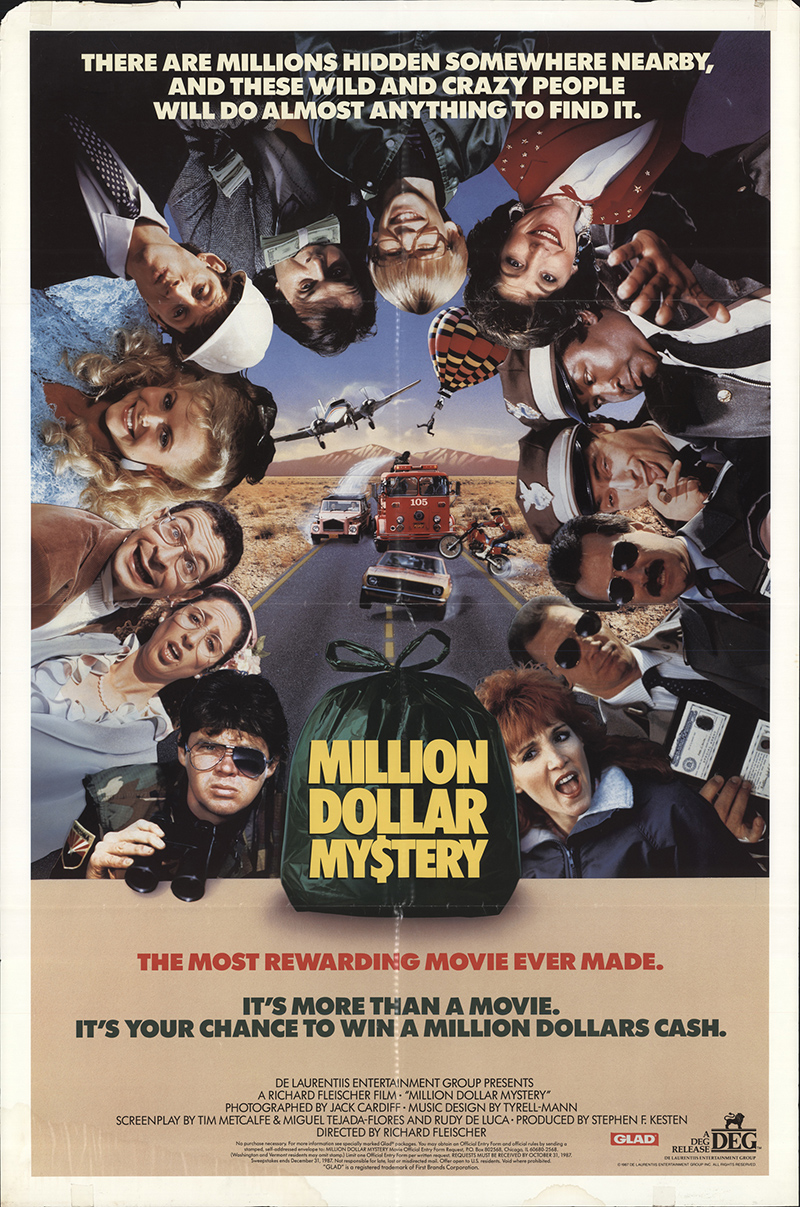 Million Dollar Mystery 1987 Original Movie Poster #FFF-08673 |  FFFMovieposters.com