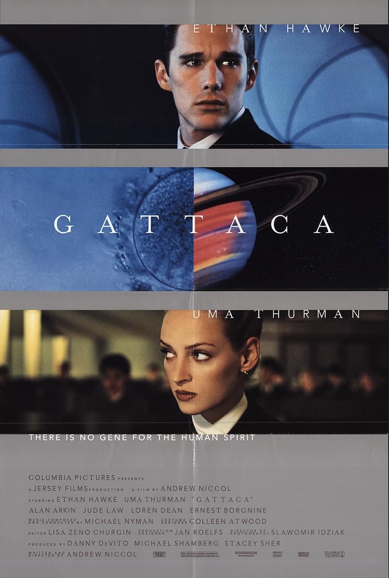 Gattaca 1997 Original Movie Poster #FFF-59866 | FFFMovieposters.com
