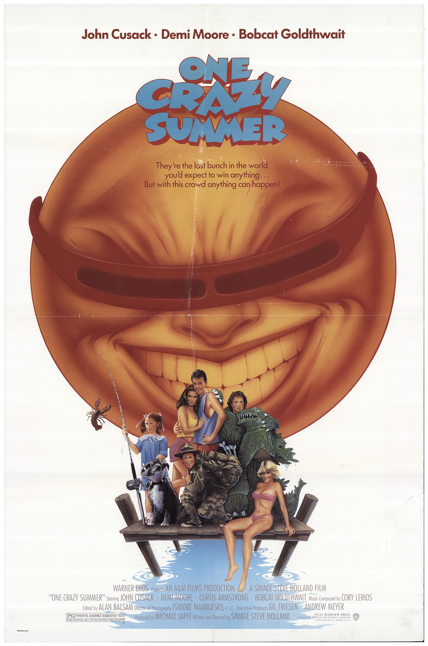 One Crazy Summer Original Movie Poster Fff