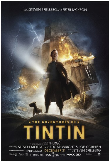 Adventures of Tintin, The 2011 Original Movie Poster #FFF-74116 ...