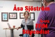 Årets FFiM Stipendiat blev Åsa Sjöström