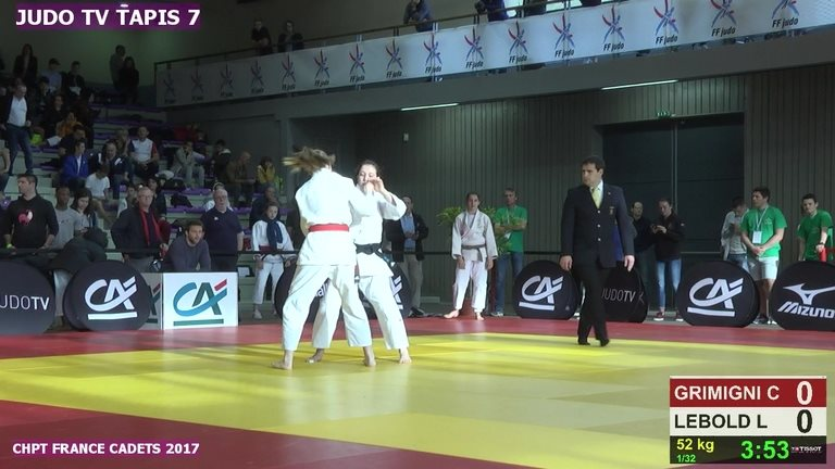 judo tv tapis 7 enredada
