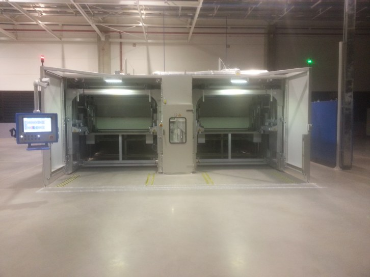 Large Volume automatic Dip and Bake impregnation for LV motors from Meier