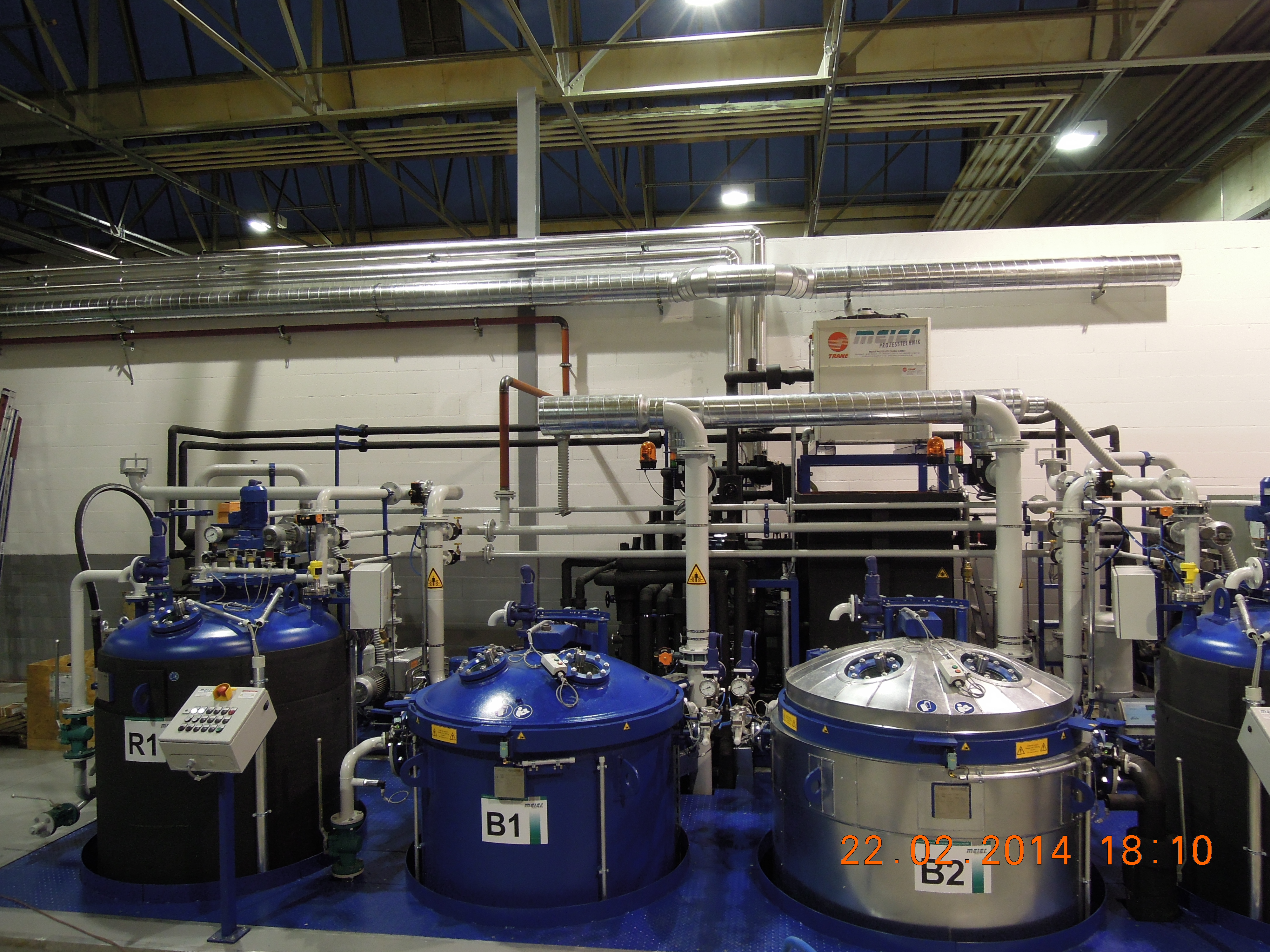 VPI unit with 2 Impregnation tanks and one holding tank from Meier