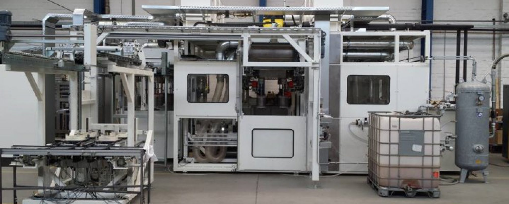 Automotive Resistance heating and Trickling impregnation unit from Meier