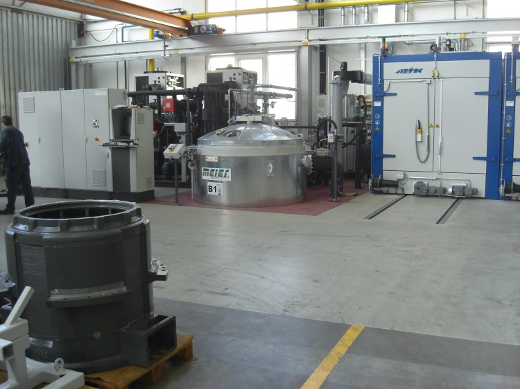 VPI unit and curing oven from Meier