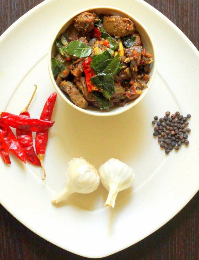 Mutton Varuval | Mutton Fry