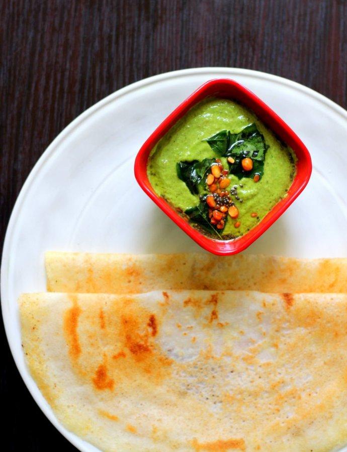 Kothamalli Chutney | Side dish for Dosa