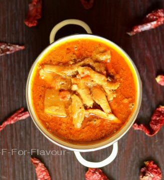Nethili Meen Kulambu | Nethili Fish Curry