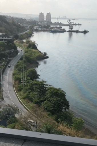 Another Chaguaramas Oil Spill
