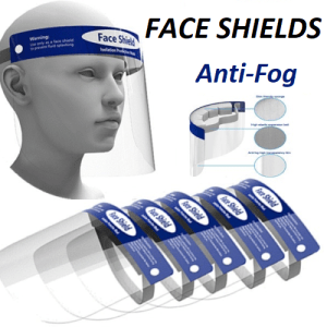Protective Face Shield Visor – Reusable 5 – Pack [CE Certified]