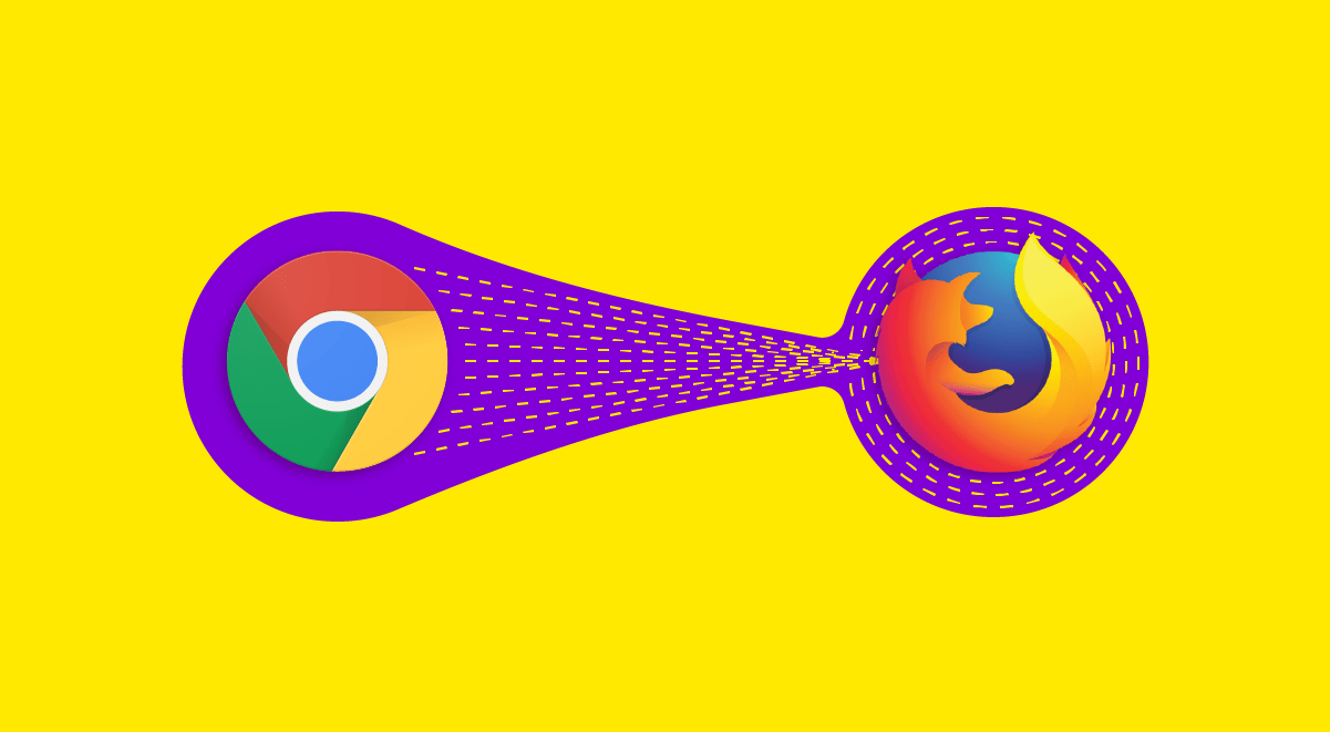 Swtiching from Chrome to Firefox graphic