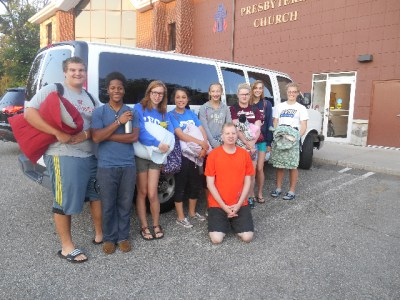 mission trip group