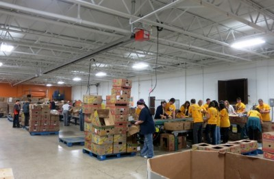 Hunger Solution Center warehouse