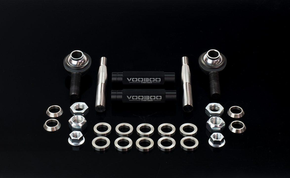 Voodoo13 1995 1998 Nissan 240sx S14 Tie Rod Ends