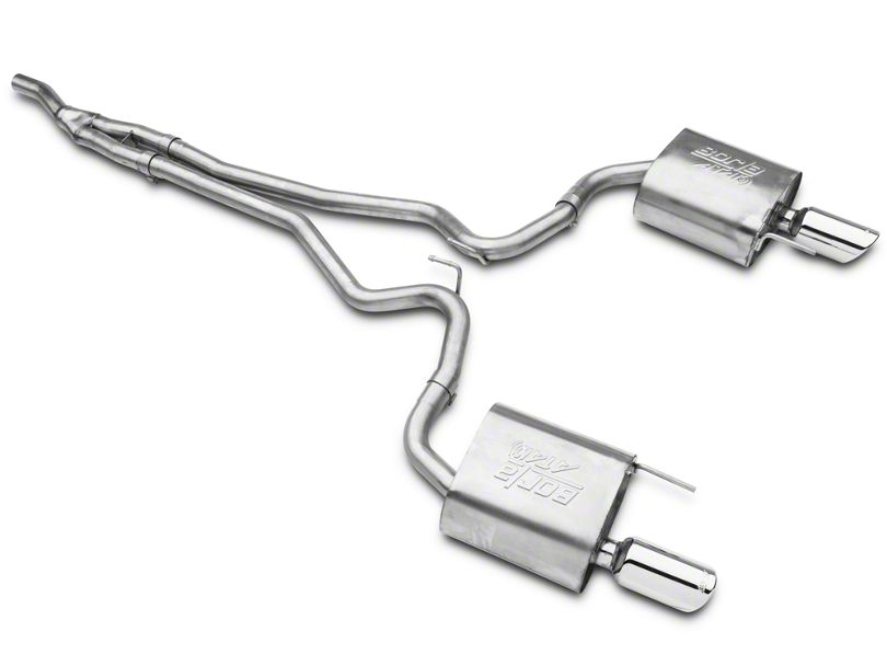 borla exhaust 2015 2020 ford mustang ecoboost atak cat back exhaust