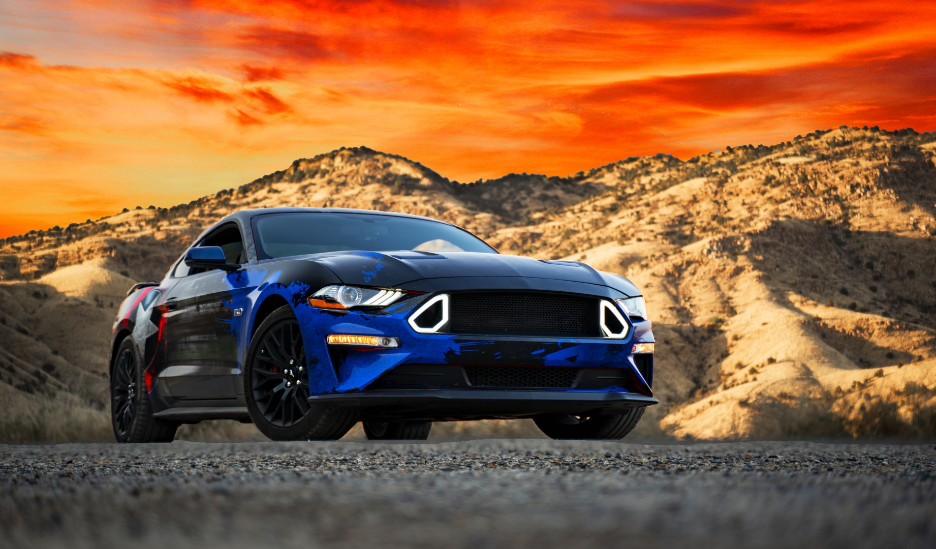 mustang gt turbo ford kit performance twin avenger function factory ground wheel messing capable horse 1200 around power american re