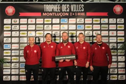 de gauche à droite : F Bendidou, G Papegay, O Perlot, D Sechet, A Prieur