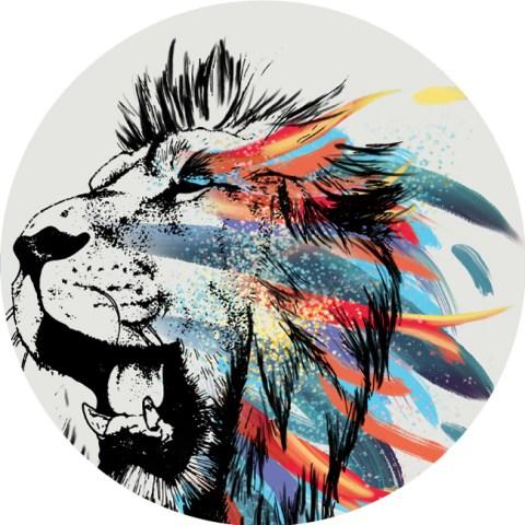 lion-photoshop-art-digital illustration
