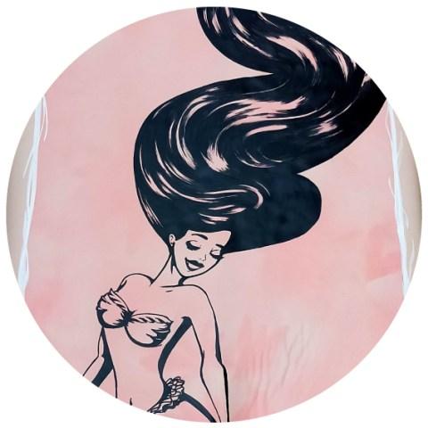 mermaid-blackink-ink-posca-surf-biarritz