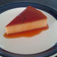 Cheat's creme caramel