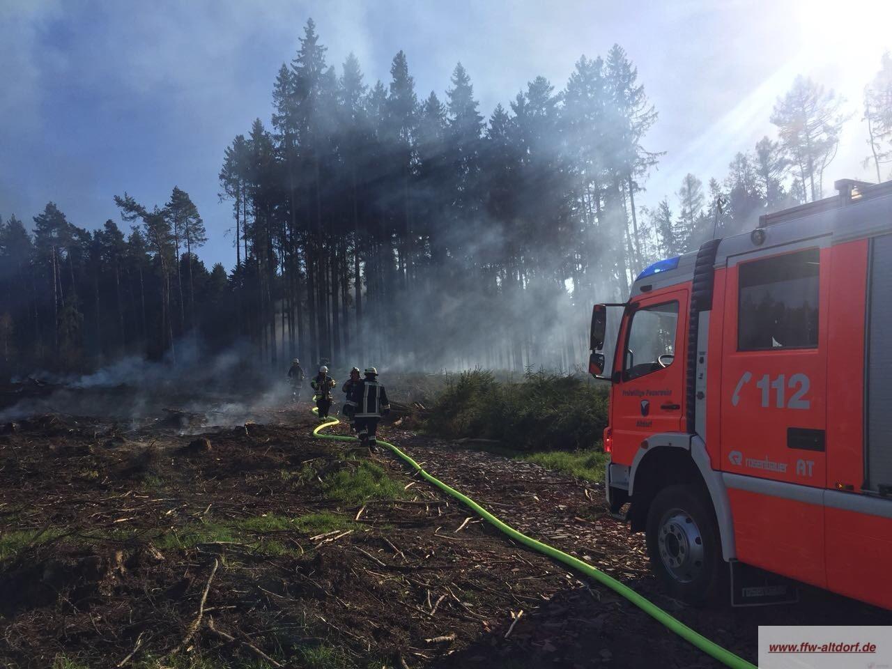 Wichtige Hinweise bei erhöhter Waldbrandgefahr