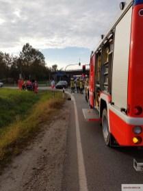 Verkehrsunfall B299, Auffahrt A92