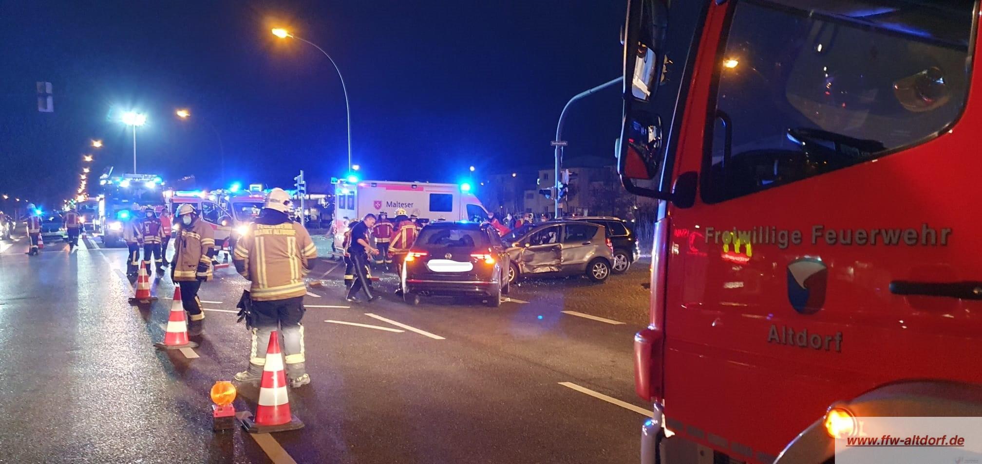 THL Verkehrsunfall