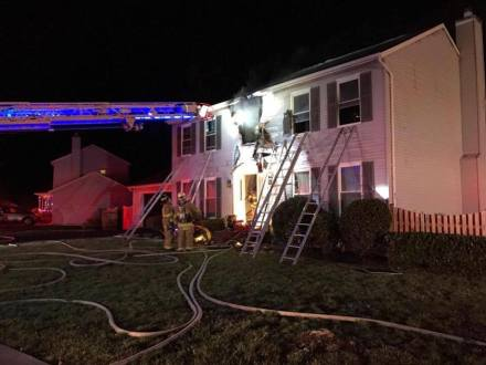 Herndon House Fire Displaces Two Adults and Two Dogs