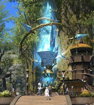 Aetheryte Final Fantasy XIV A Realm Reborn Wiki FFXIV FF14 ARR Community Wiki And Guide