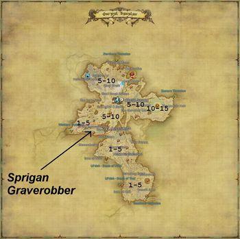 Spriggan Graverobber Final Fantasy XIV A Realm Reborn