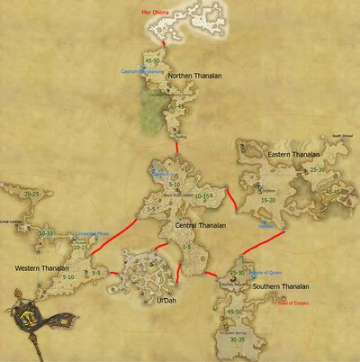 Thanalan Final Fantasy XIV A Realm Reborn Wiki FFXIV