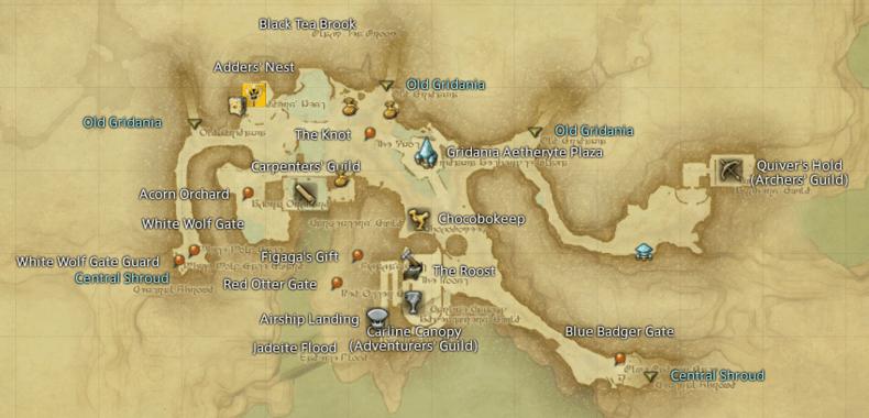 New Gridania Gamer Escape