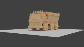 Portfolio_DumpTruck_Modeled