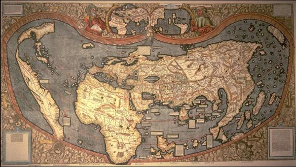 Martin Wadlseemüller map, 1507